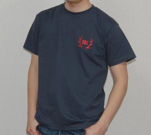 真田幸村デザインTシャツ(デニム)前面