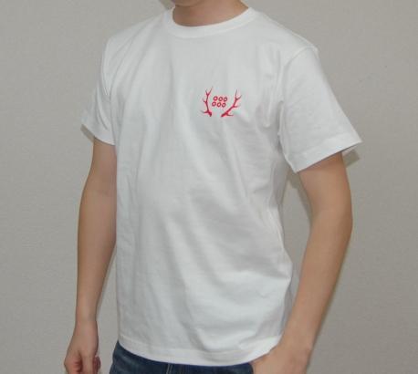 真田幸村デザインTシャツ(ホワイト)前面